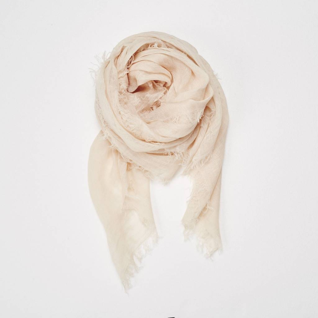 Linen Scarf in Rose