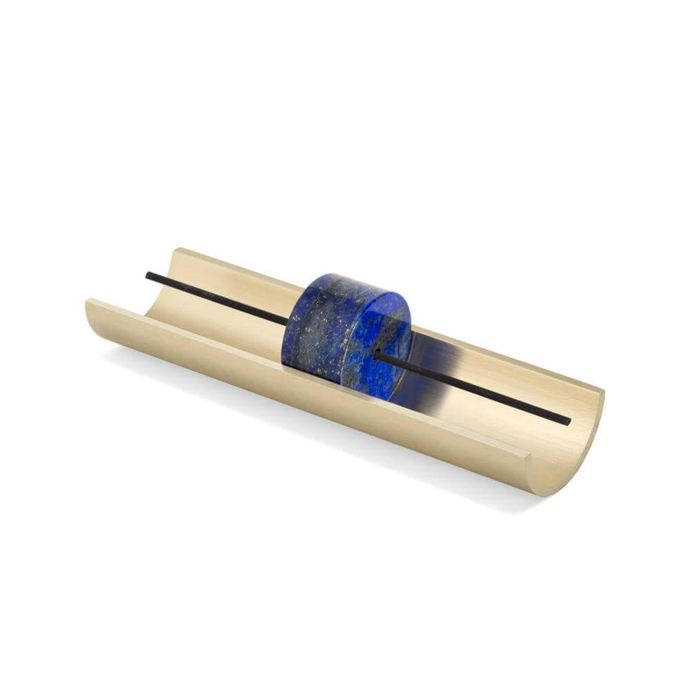 Cinnamon Projects Circa Incense Burner: Lapis Lazuli