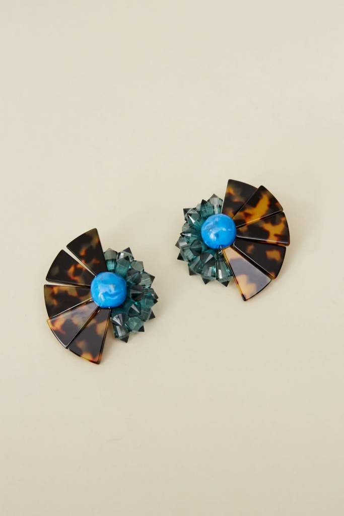 Rachel Comey Rachel Comey Marquee Earrings Tortoise Multi