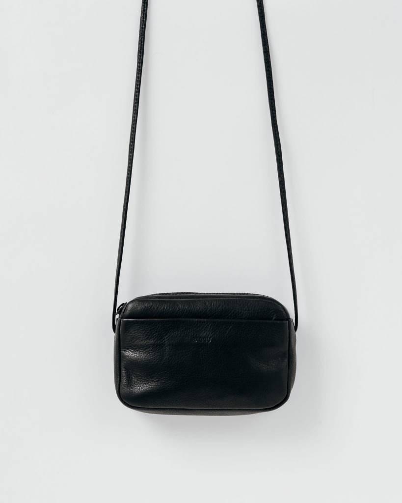 Baggu Leather Mini Purse Black