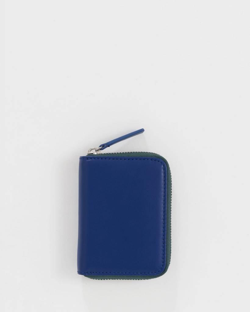 Baggu Unisex Short Zip Wallet Cobalt