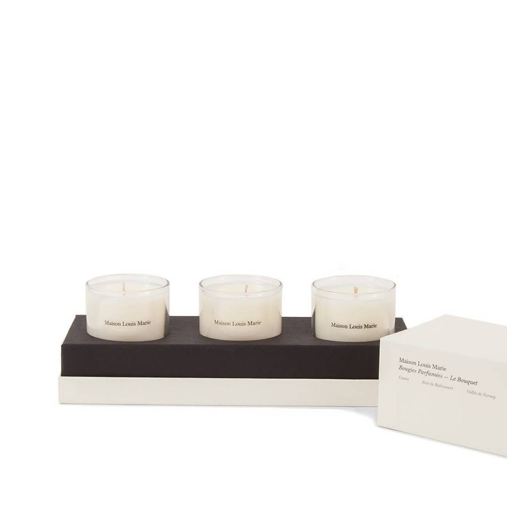 Maison Louis Marie Le Bouquet 3 Candle Gift Set