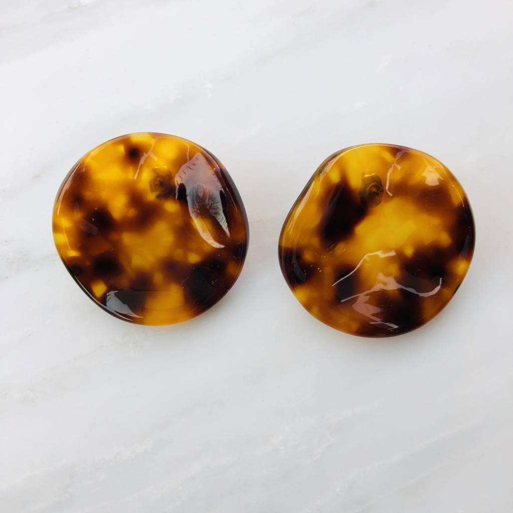 Rachel Comey Rachel Comey Shell Earrings: Tortoise