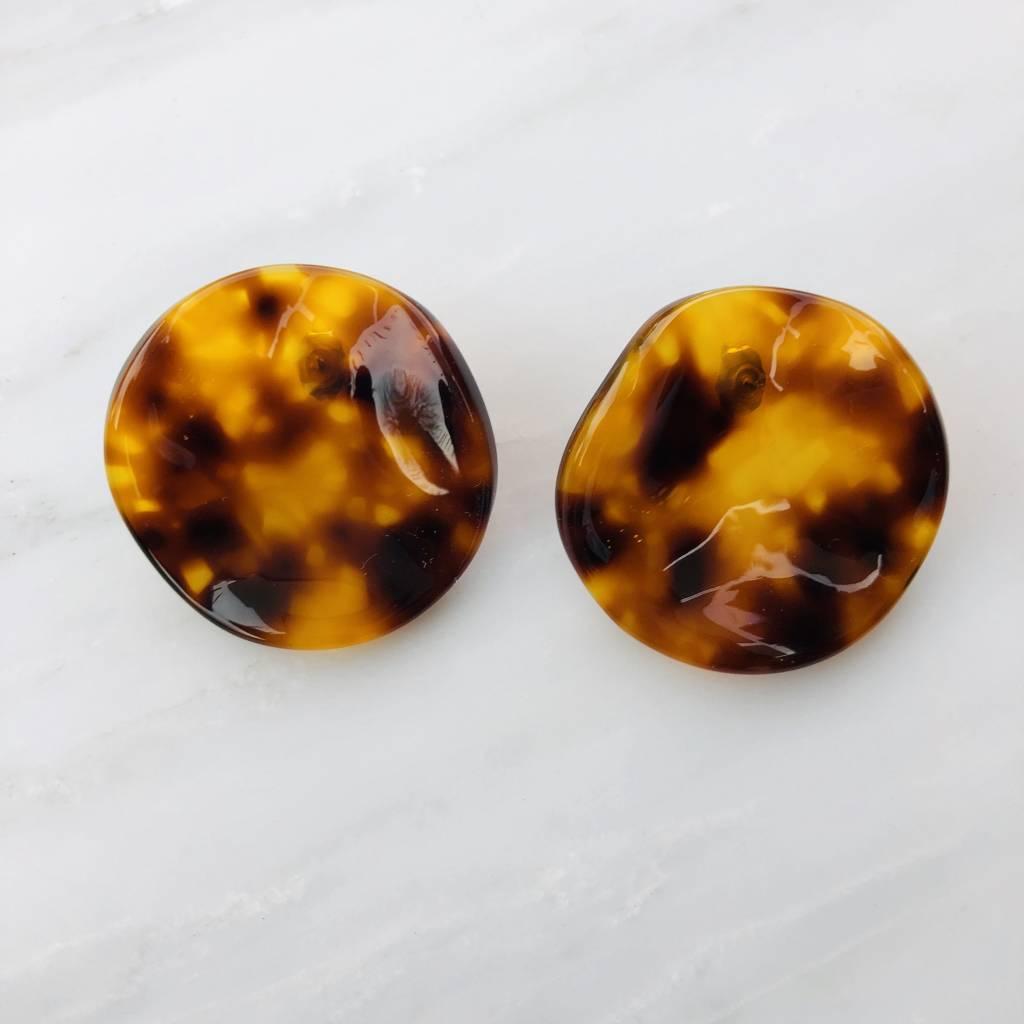 Rachel Comey Rachel Comey Shell Earrings: Tortoise