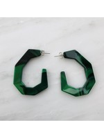 Rachel Comey Rachel Comey Baby Factor Earrings Malachite