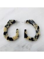 Rachel Comey Rachel Comey Baby Factor Earrings Dalmatian