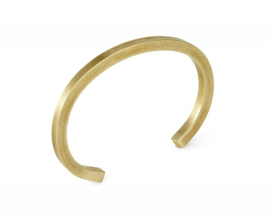 Craighill Uniform Square Cuff in Brass