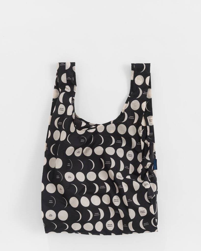 Baggu Nylon Reusable Shopping Bag Moon