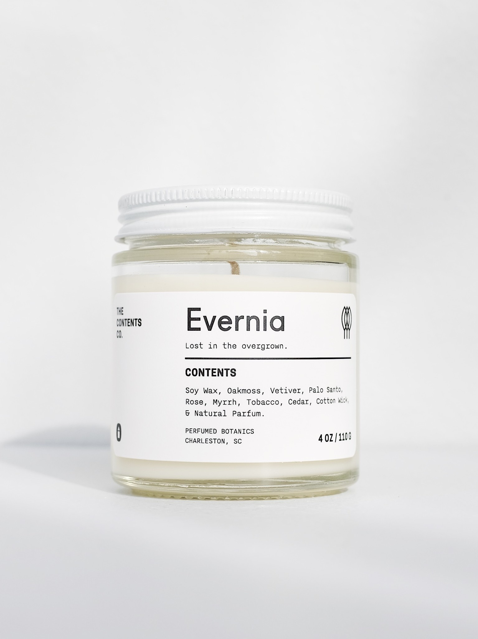 The Contents Co. 4oz Travel Candle: Evernia