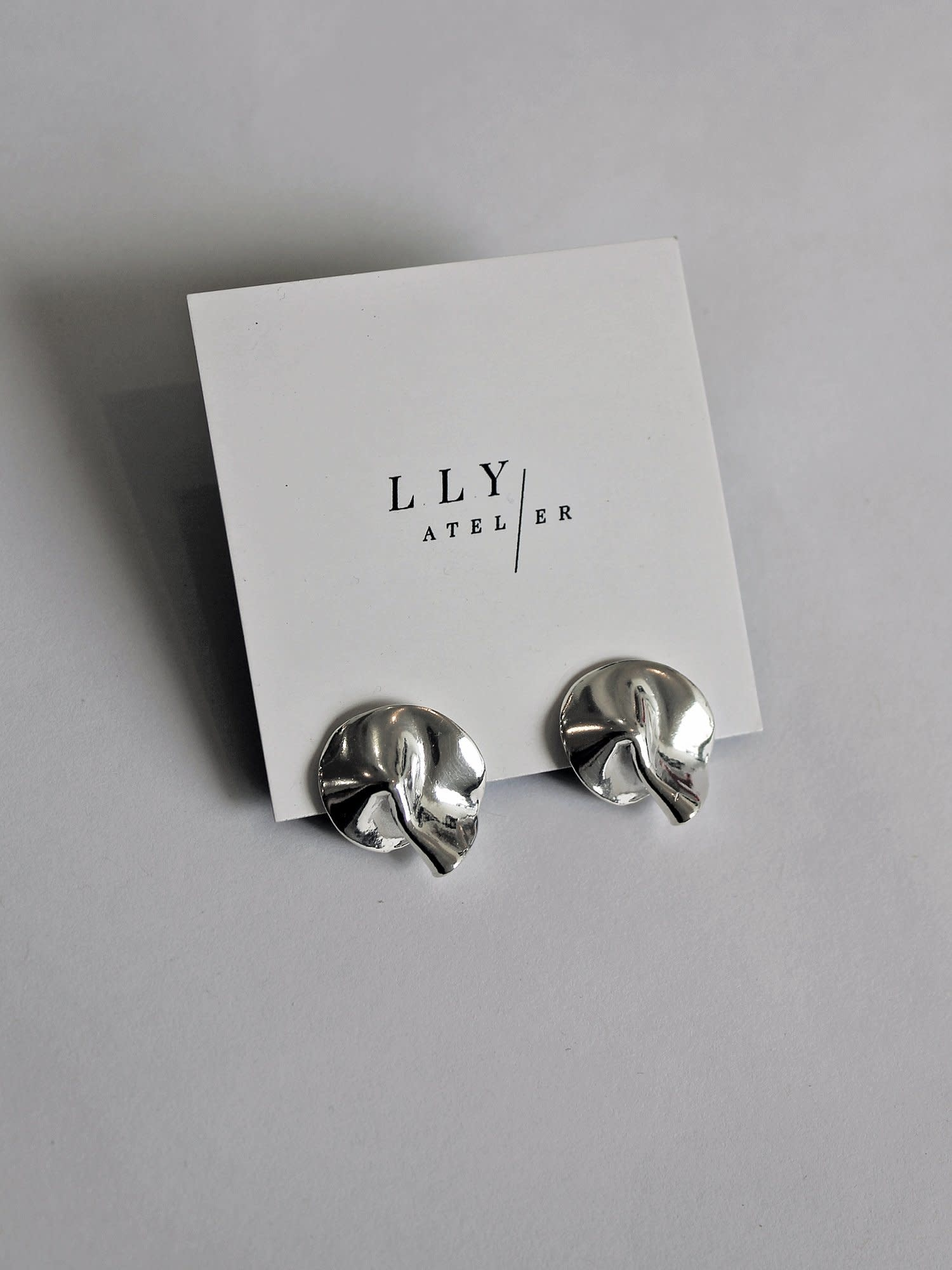 L.L.Y. Altelier Fortune Earrings in Solid SIlver