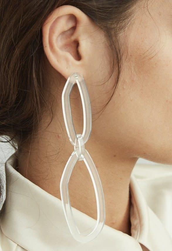 Rachel Comey Rachel Comey Elm Earrings Clear