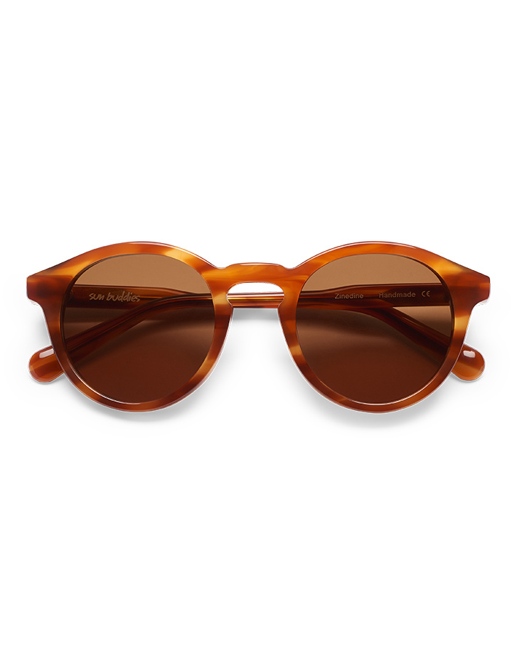 Sun Buddies Zinedine Sunglasses in Brown Smoke