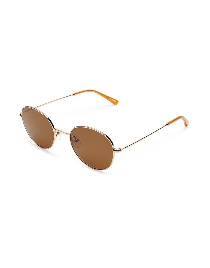 Sun Buddies Ozzy Sunglasses in Gold/Cola