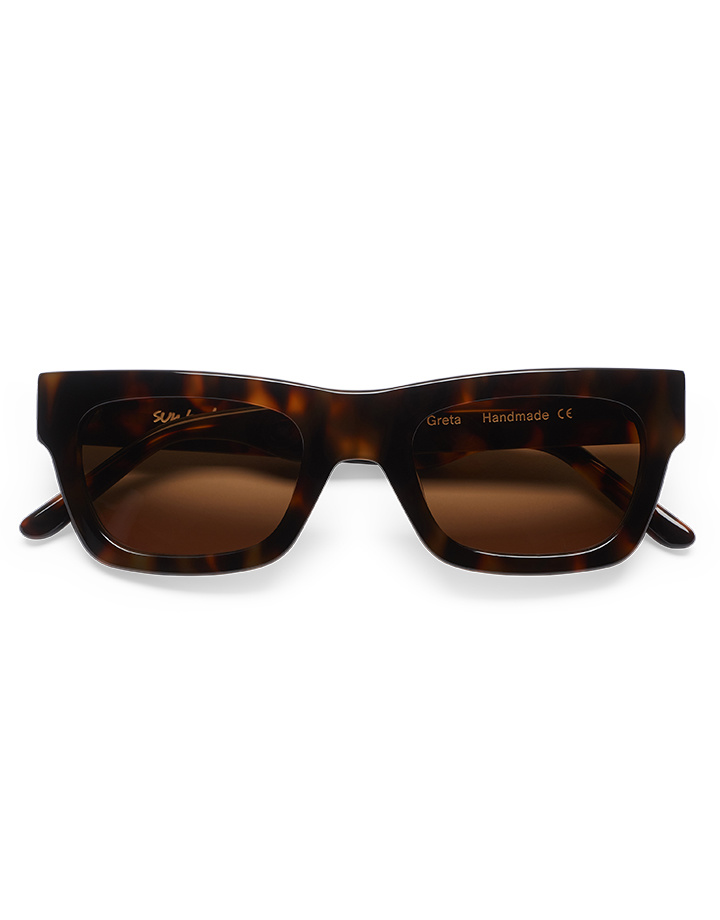 Sun Buddies Greta Sunglasses in Brown Tortoise