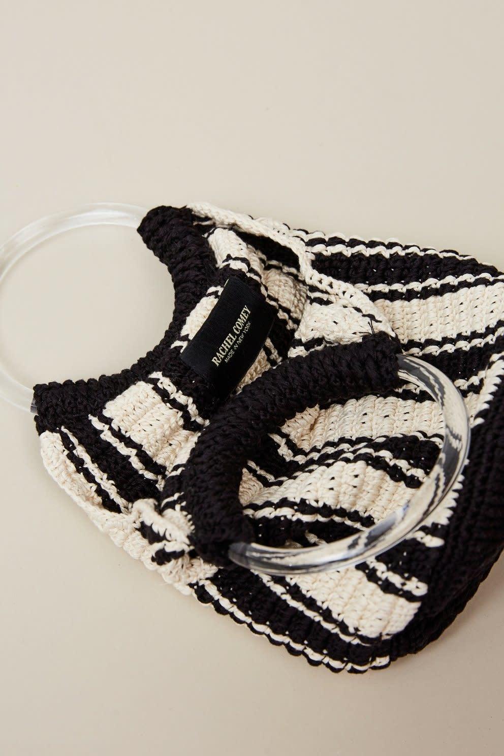 Rachel Comey Rachel Comey Praia Bag Black and White Crochet