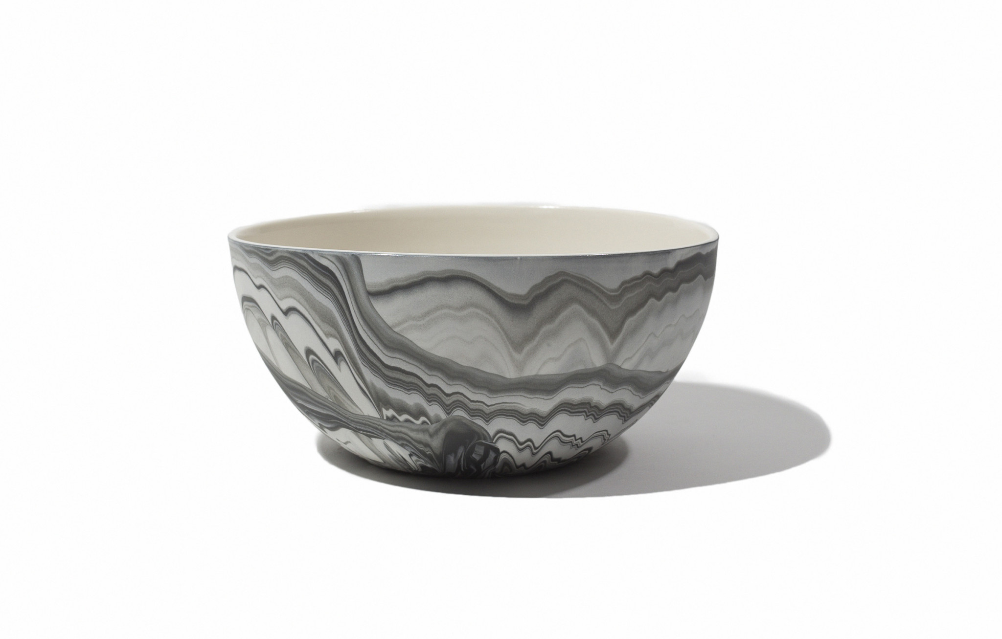Andrew Molleur Medium Marbled Serving Bowl