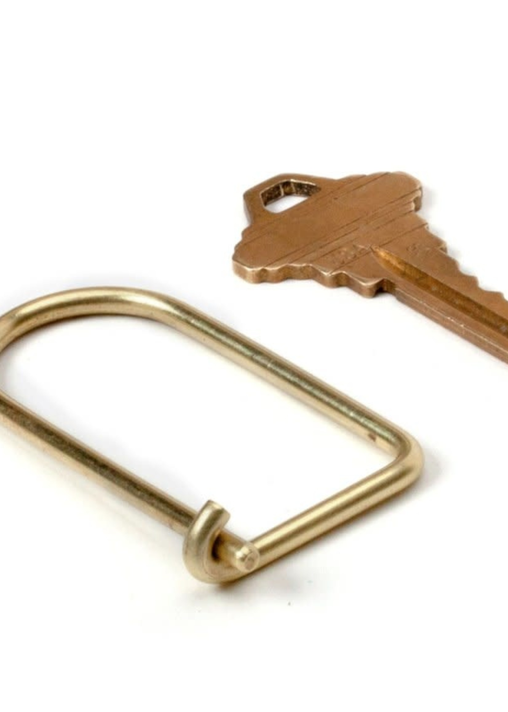 Craighill Wilson Key ring in Brass