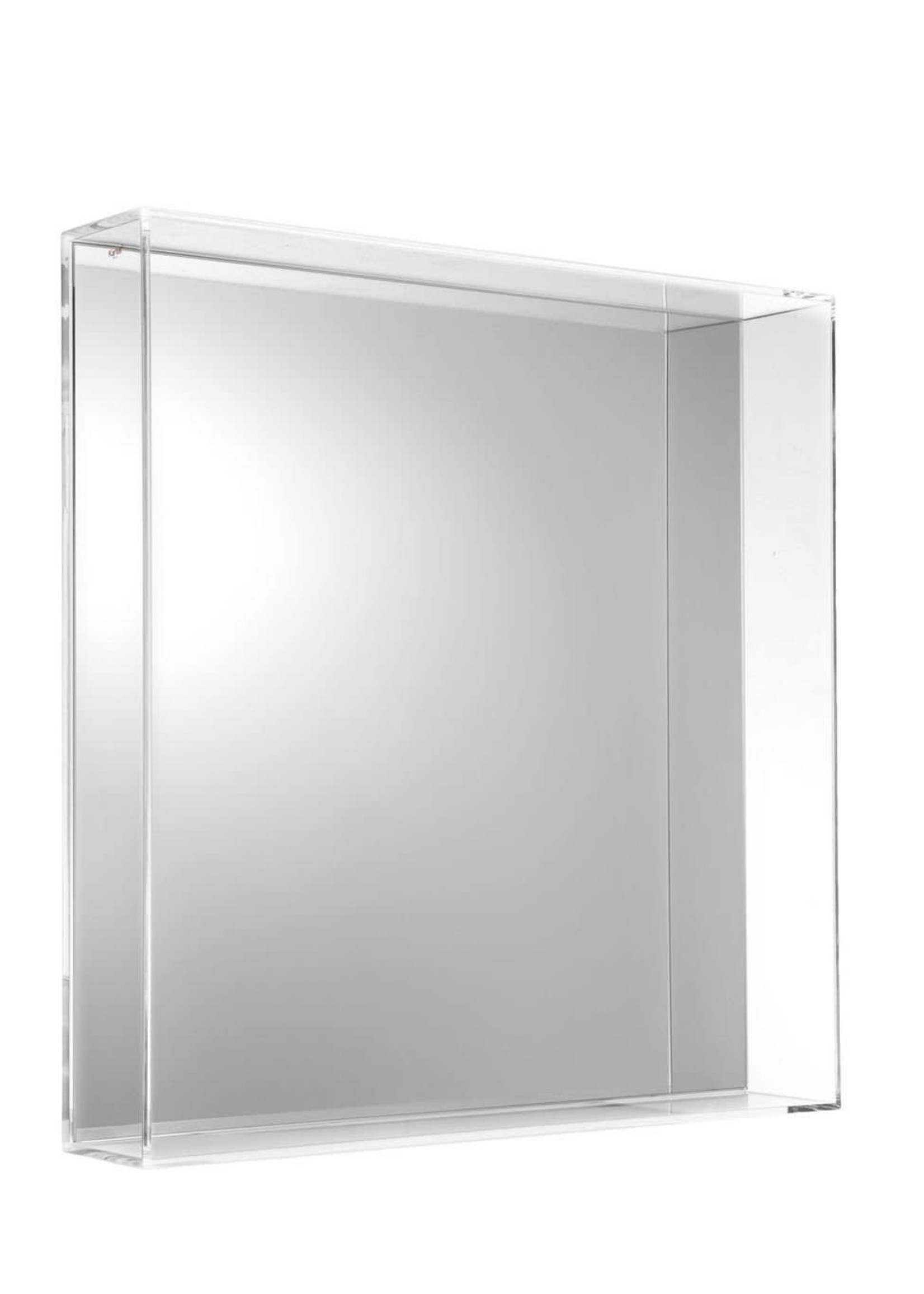 Kartell Kartell Only Me Square Mirror in Crystal
