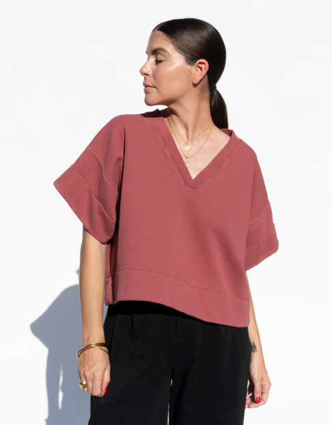 Rachel Comey Tender Sweatshirt in Rust