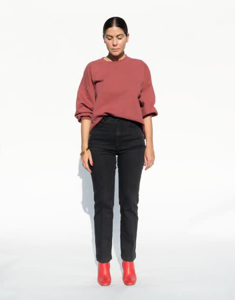 Rachel Comey Fond Sweatshirt in Rust