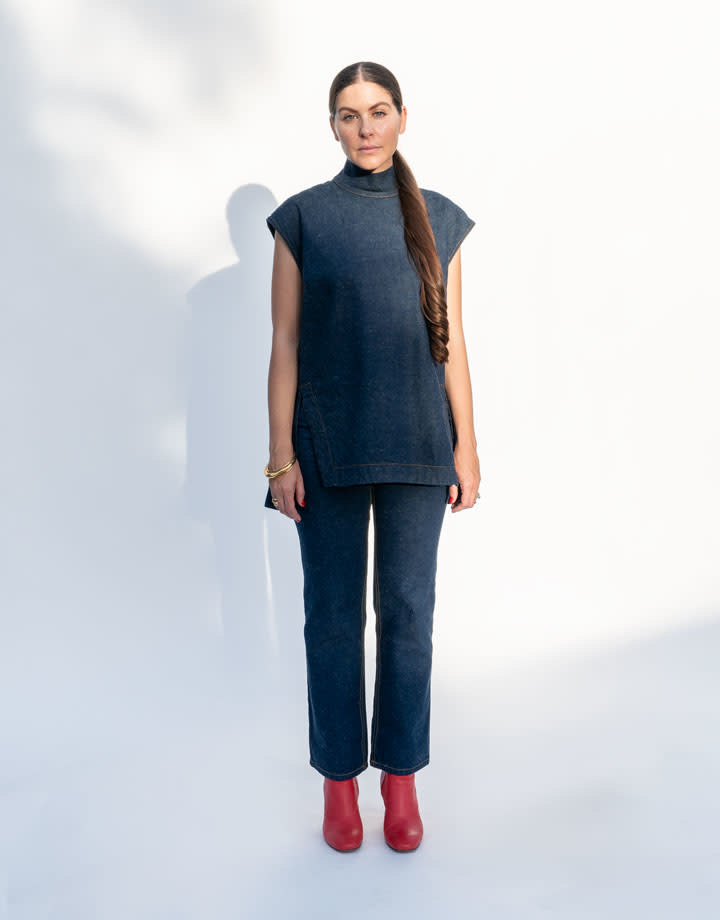 Rachel Comey Depart Denim Top