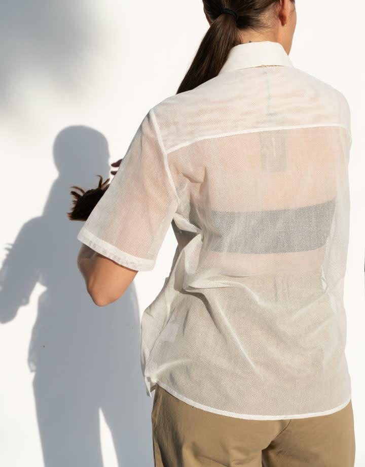 Rachel Comey Chaca Top in Off White
