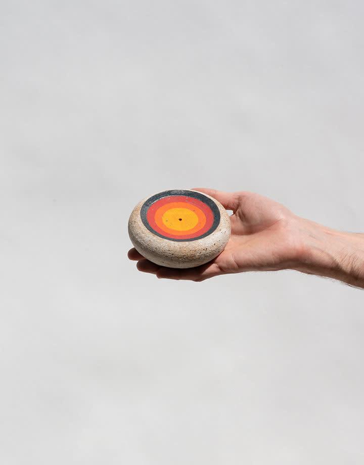 MQuan Incense Burner: Bullseye