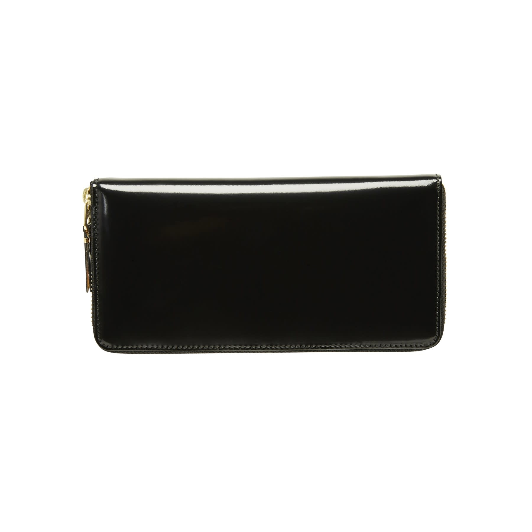 COMME des GARÇONS Wallet Large Mirror Inside Wallet Black/Gold