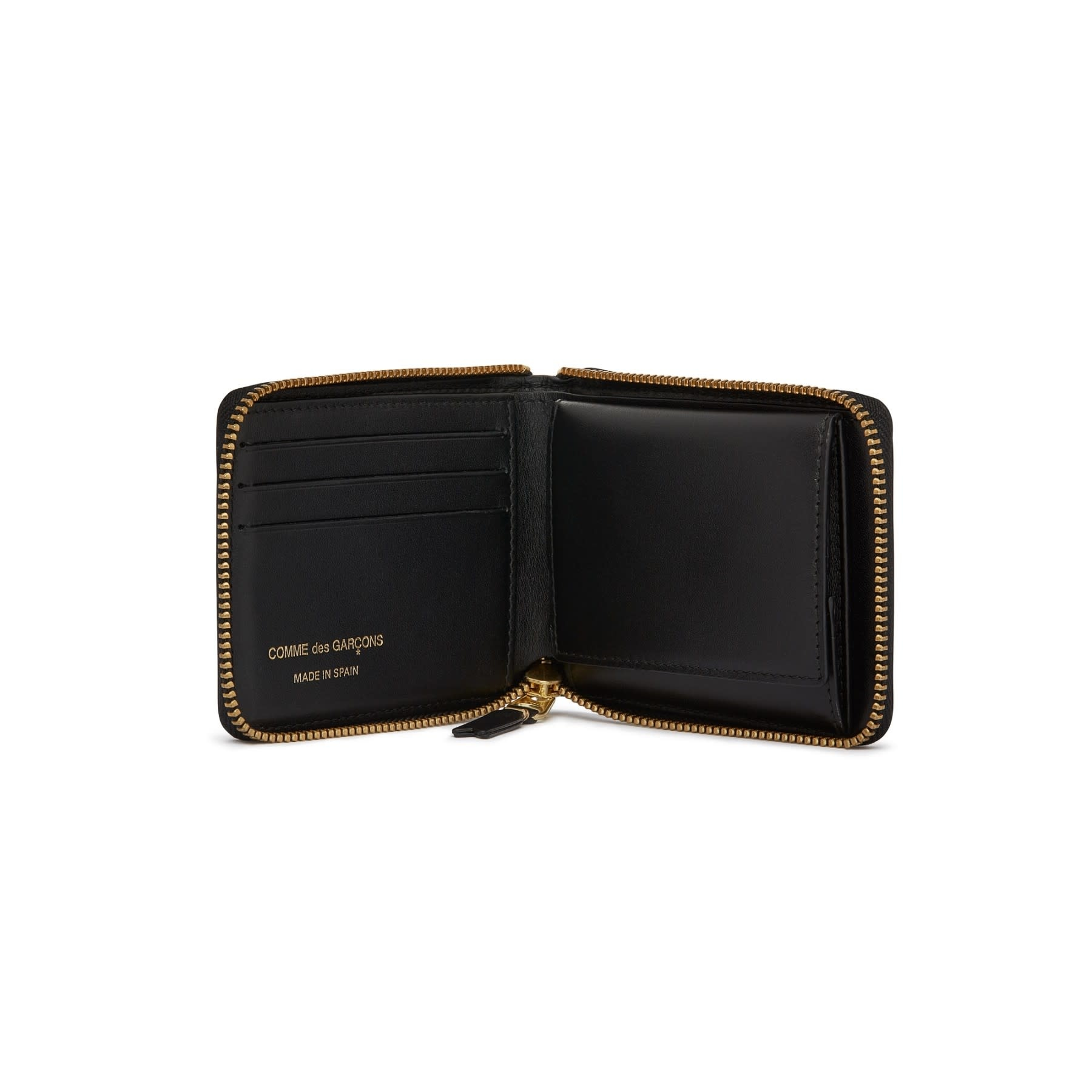 COMME des GARÇONS Wallet Full Zip Wallet Classic Black SA7100
