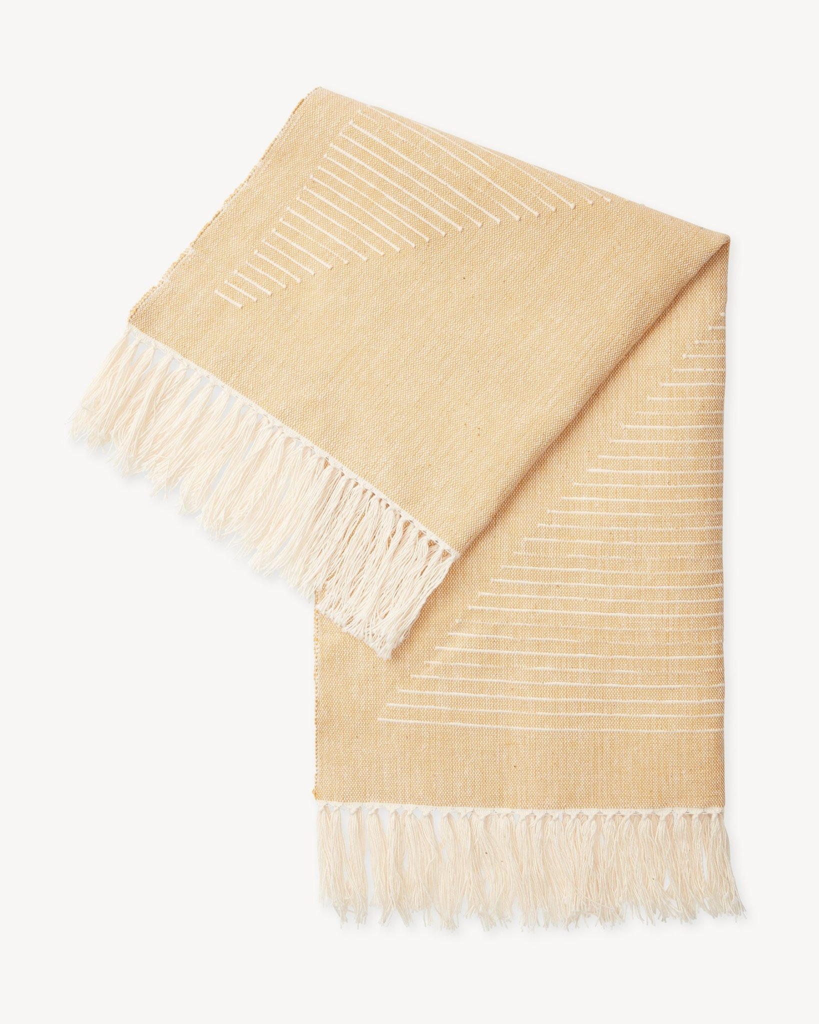 Minna Triangle Towel in Gold