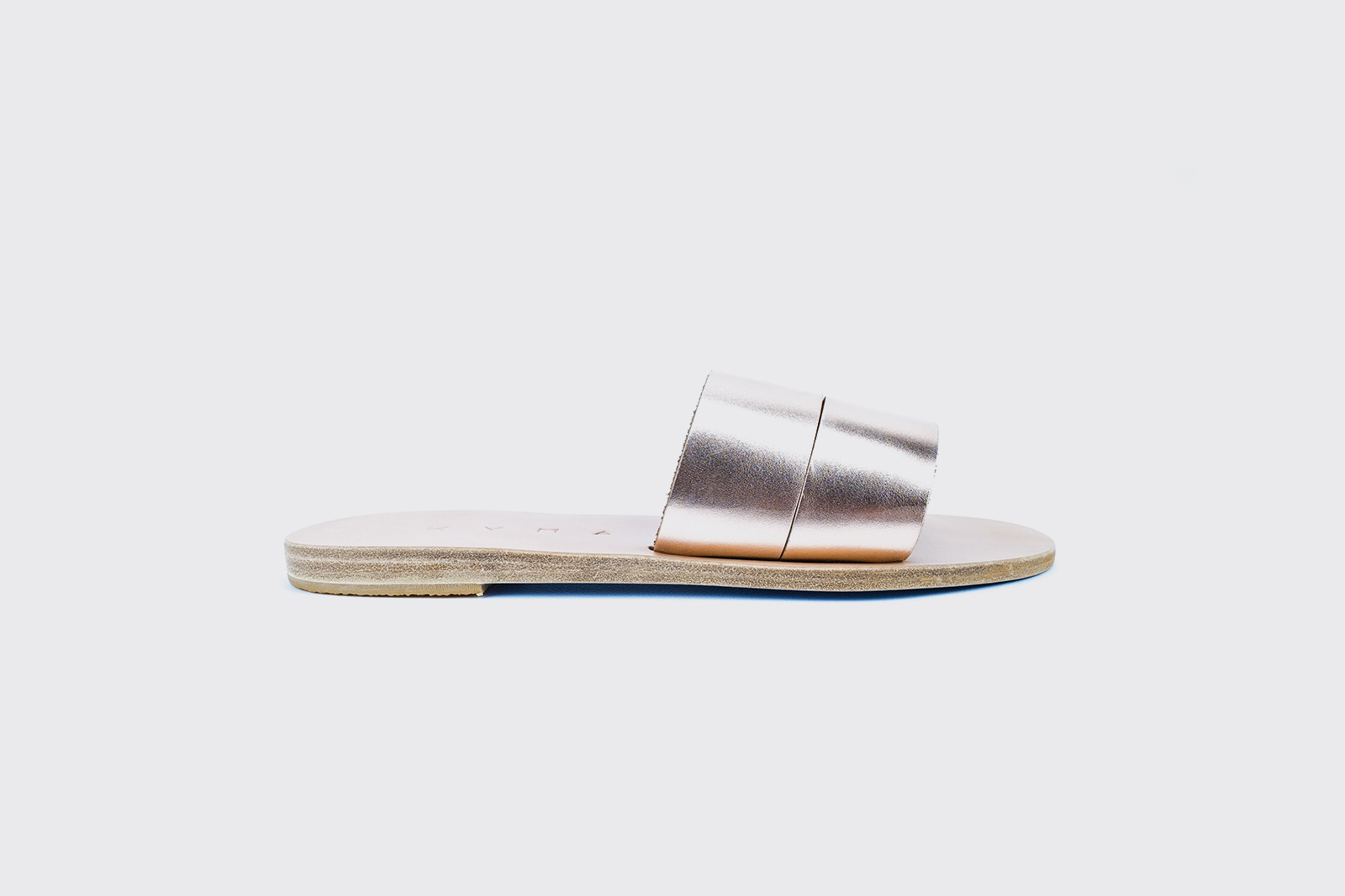 Kyma Kithira Greek Sandals in Bronze/Natural