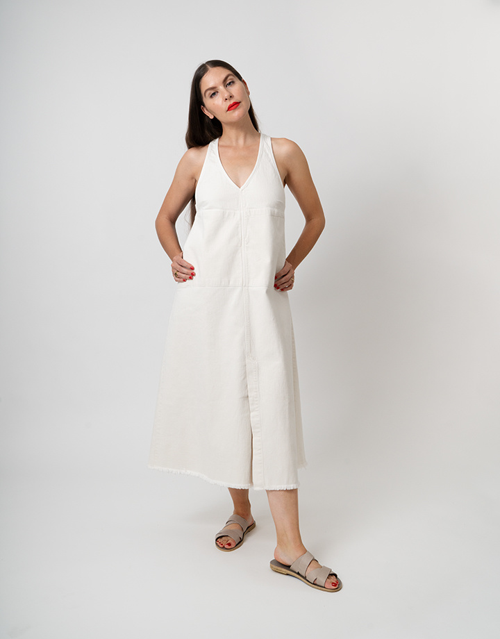 Rachel Comey Buxton Dress In White