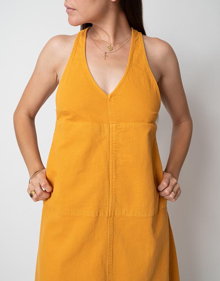 Rachel Comey Rachel Comey Buxton Dress in Tumeric
