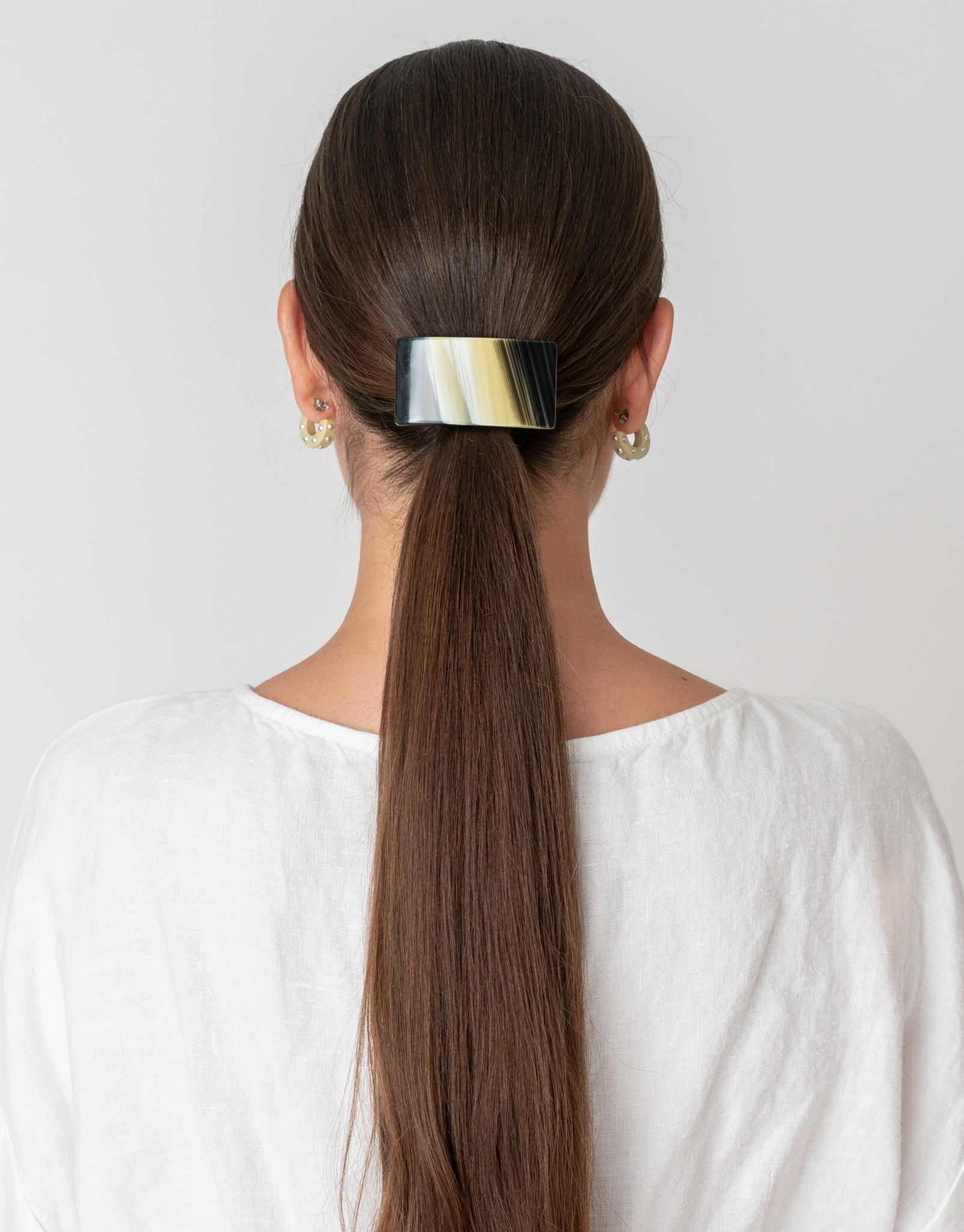 Rachel Comey Rachel Comey Rosellini Barrette in Striped Shell