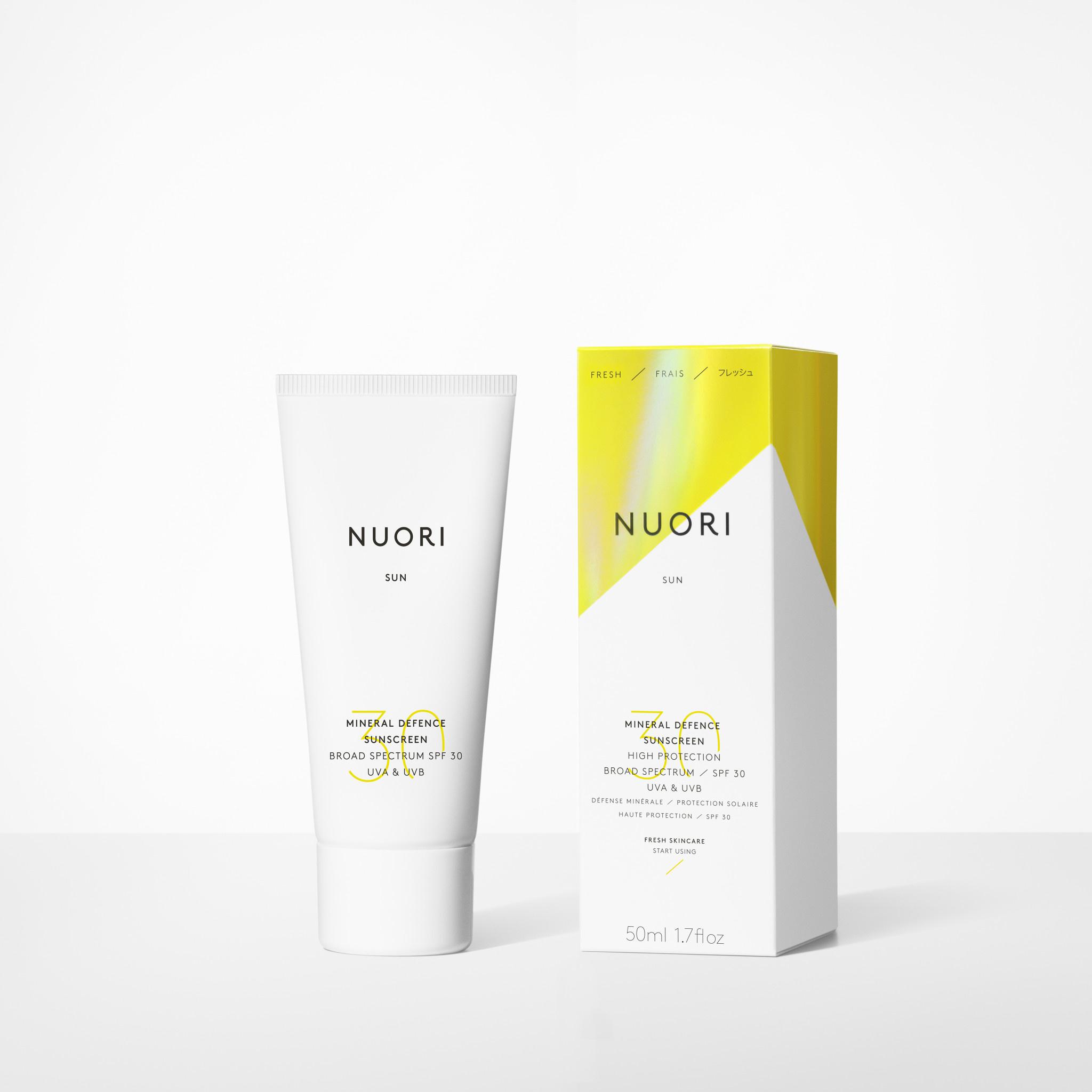 Nuori NUORI Mineral Defense Sunscreen SPF 30