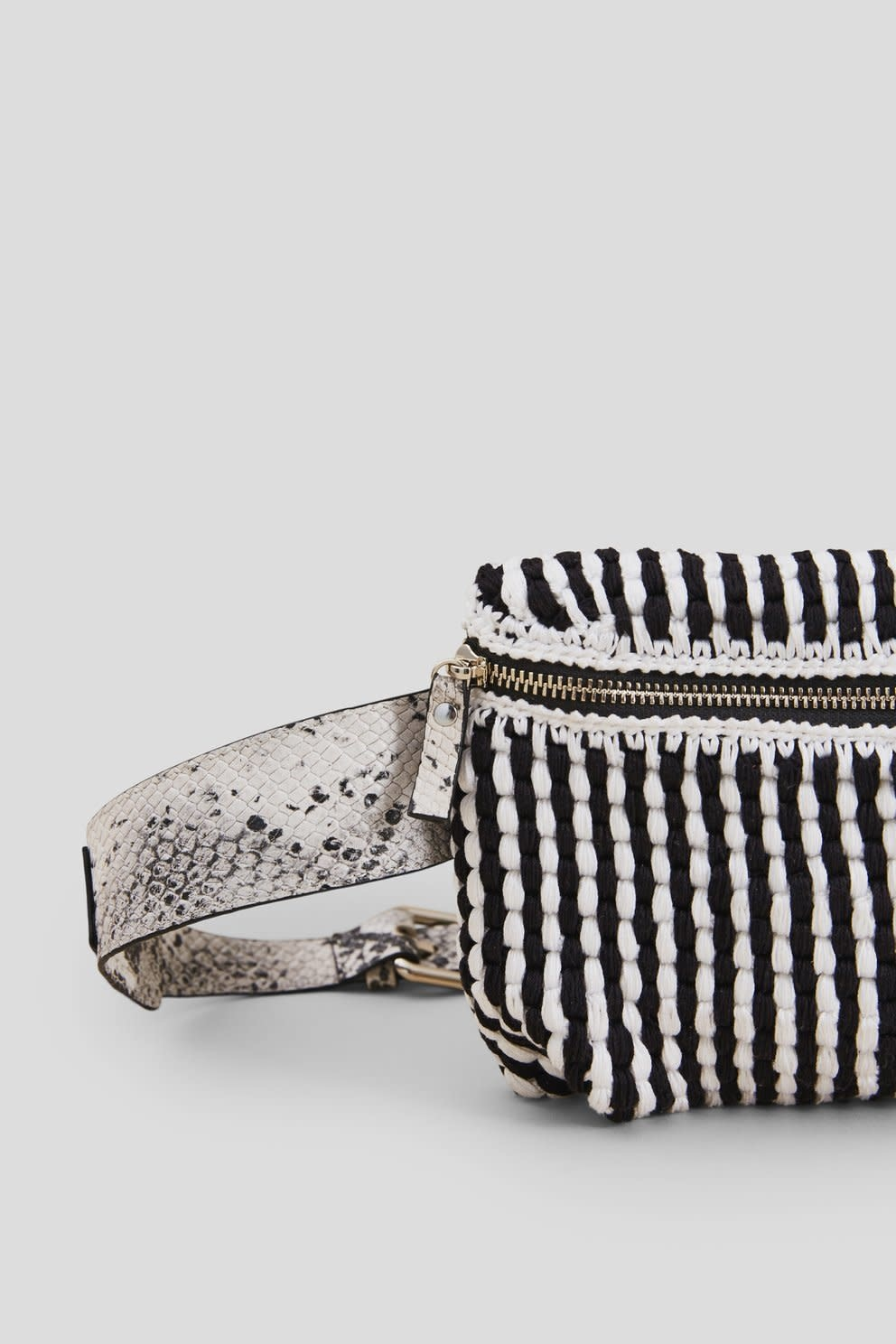 Rachel Comey Rachel Comey Hagen Fanny Pack Black and White