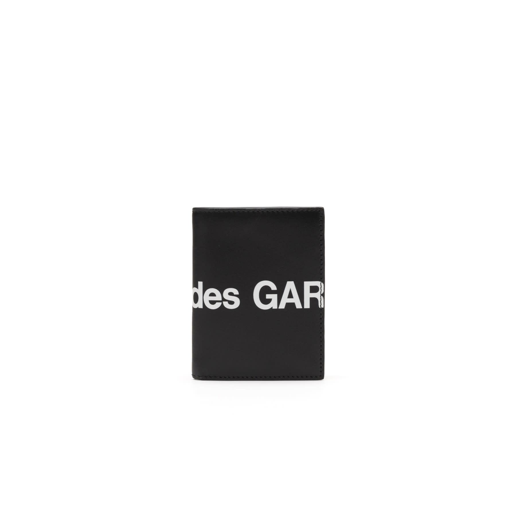 COMME des GARÇONS Wallet Bifold Huge Logo Wallet Black SA0641HL