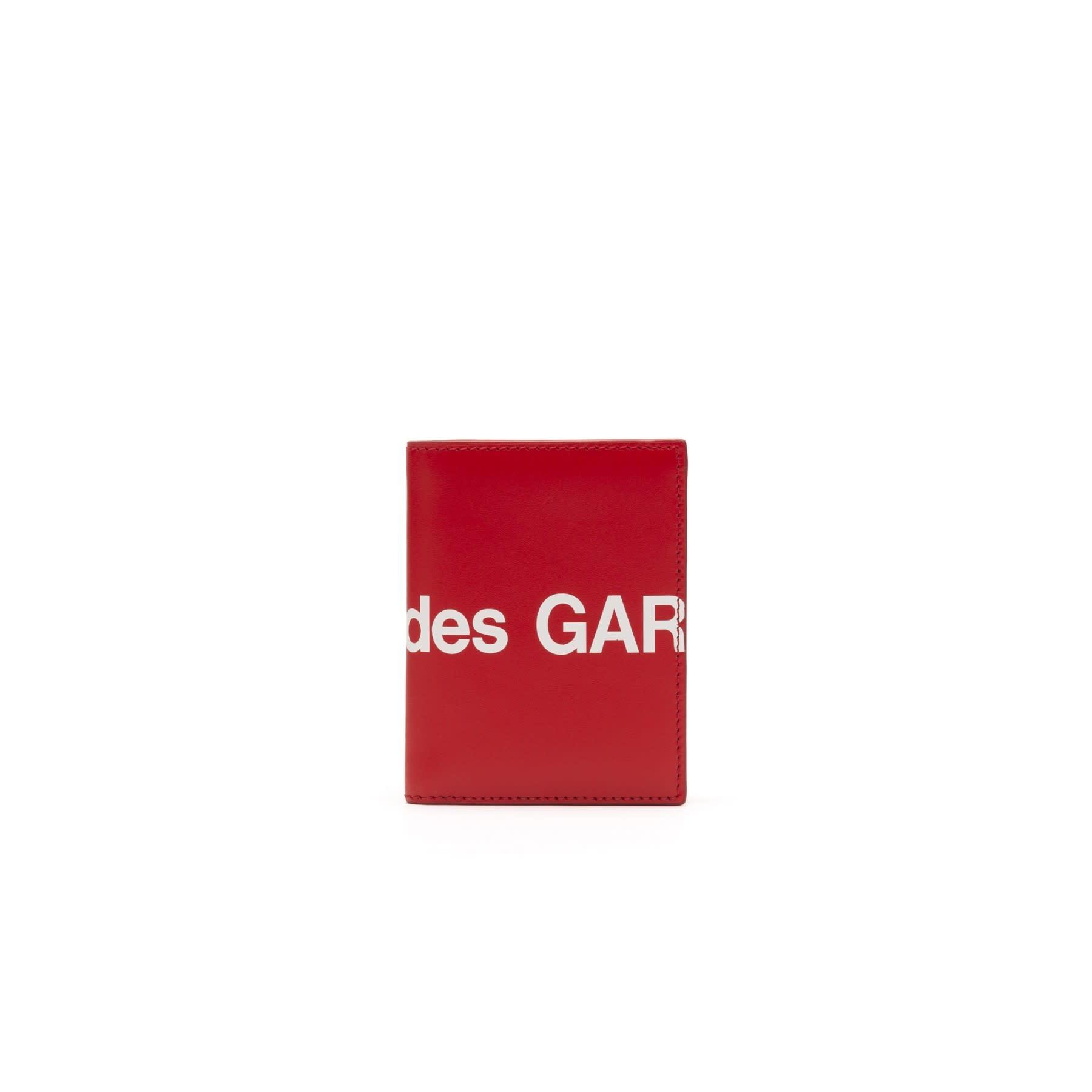 COMME des GARÇONS Wallet COMME DES GARÇONS BIFOLD HUGE LOGO WALLET Red SA0641HL