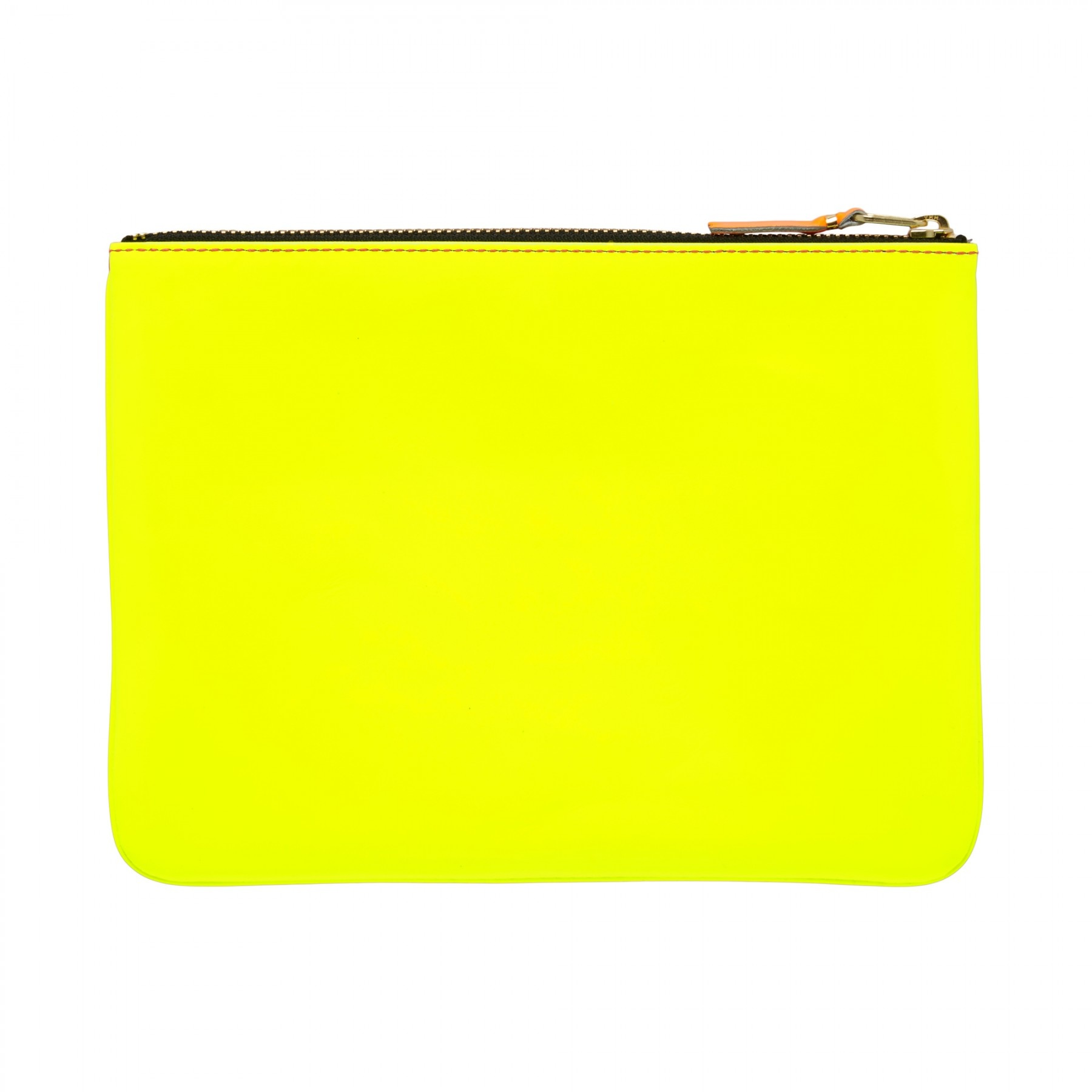 COMME des GARÇONS Wallet Comme des Garçons Large Pouch Super Fluo Pink/Yellow SA5100SF