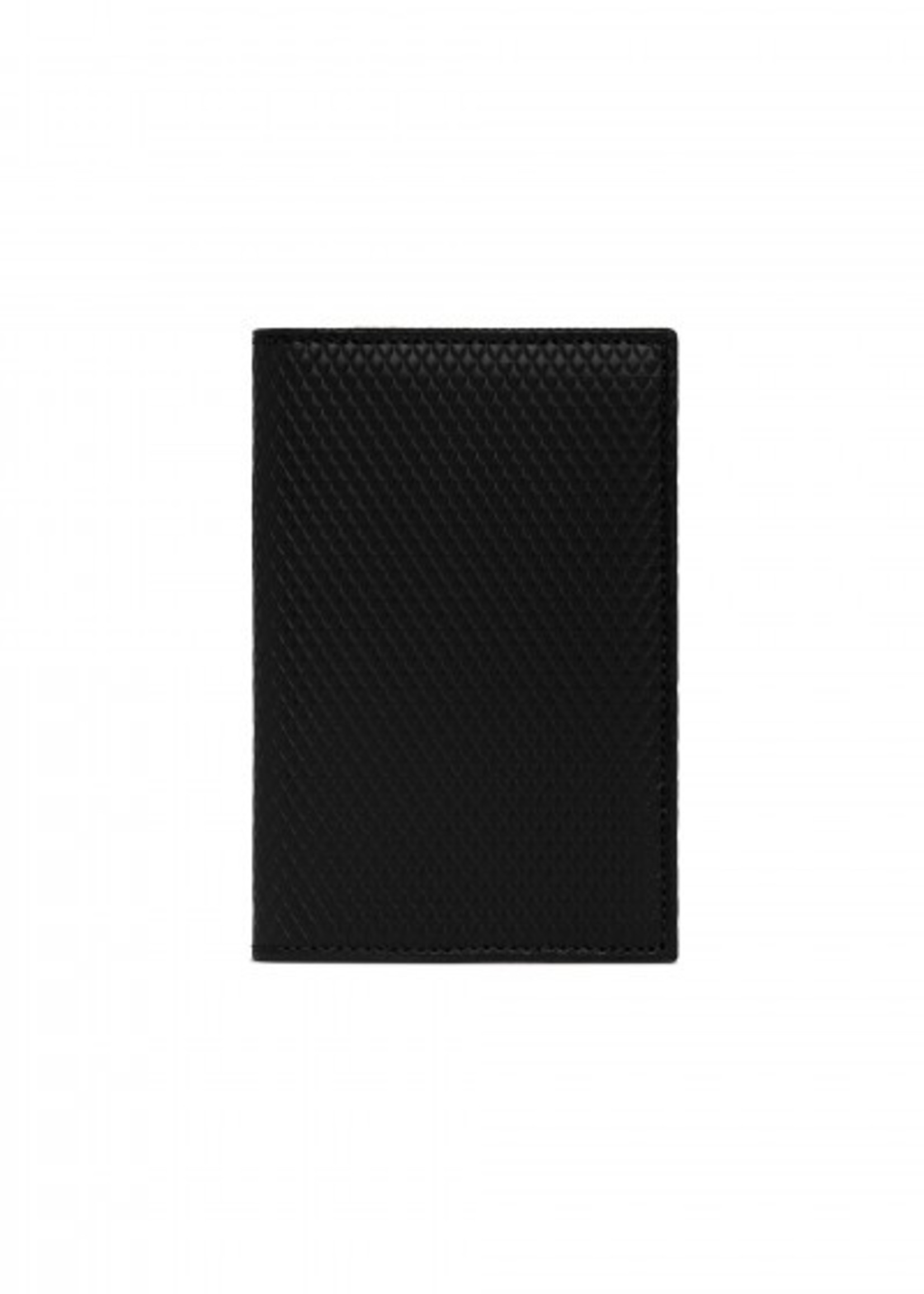 COMME des GARÇONS WALLET Card Holder Lux Black Leather  SA6400LG