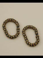 Rachel Comey Rachel Comey Purr Earring in Topaz-Hematite