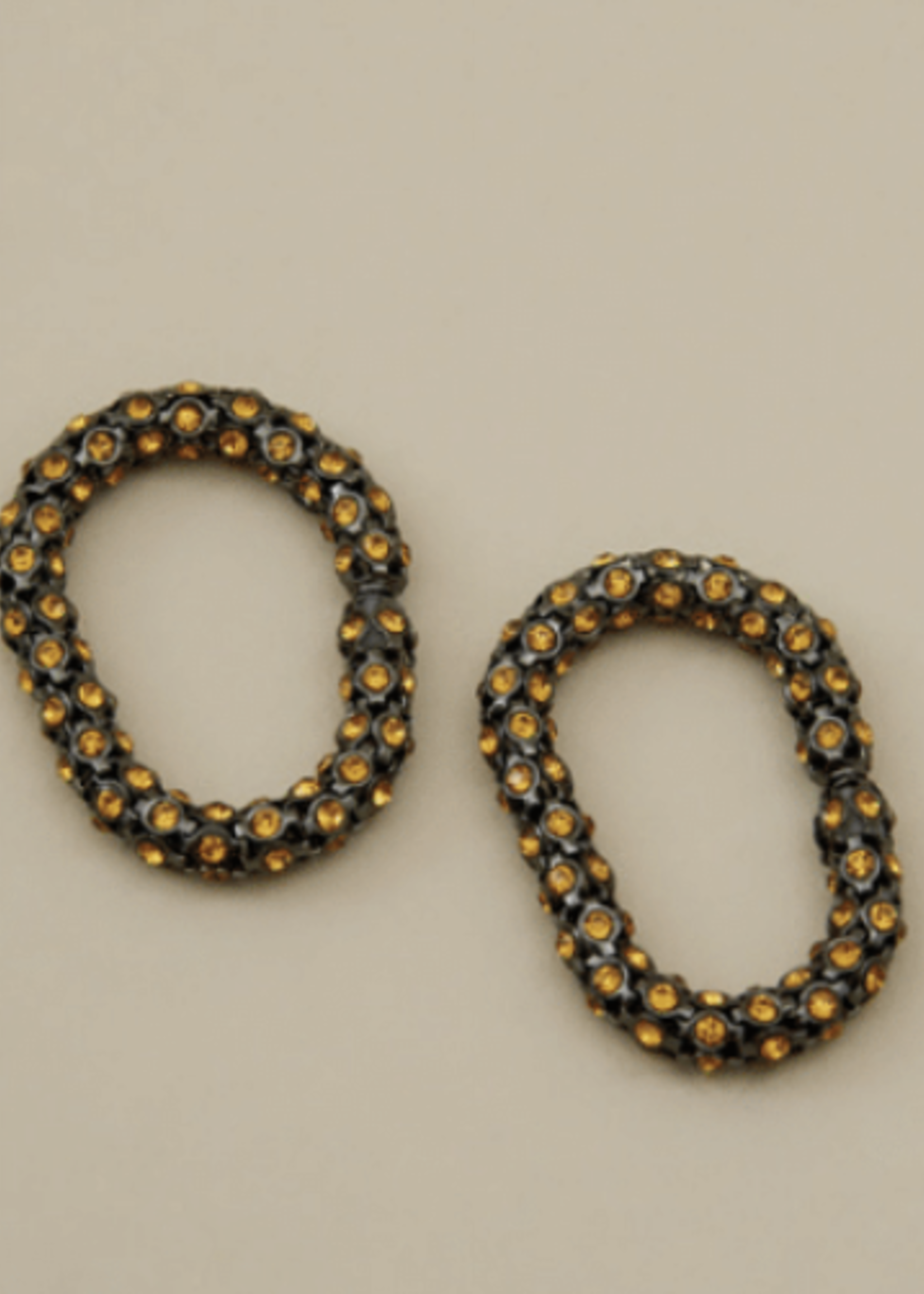 Rachel Comey Purr Earring in Topaz-Hematite