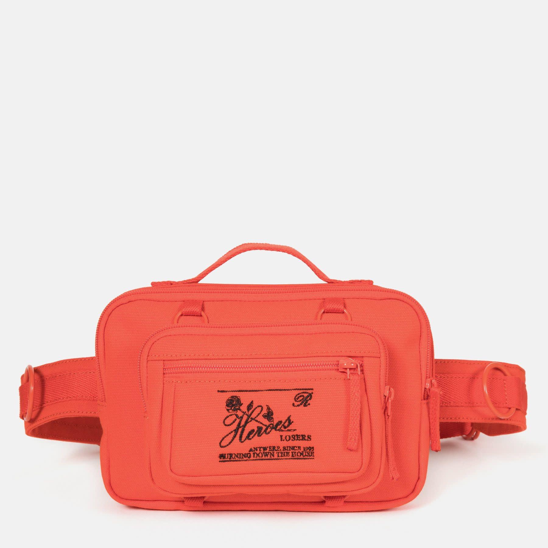 RAF SIMONS Raf Simons X Eastpak Loop Waist Bag in Safety Orange