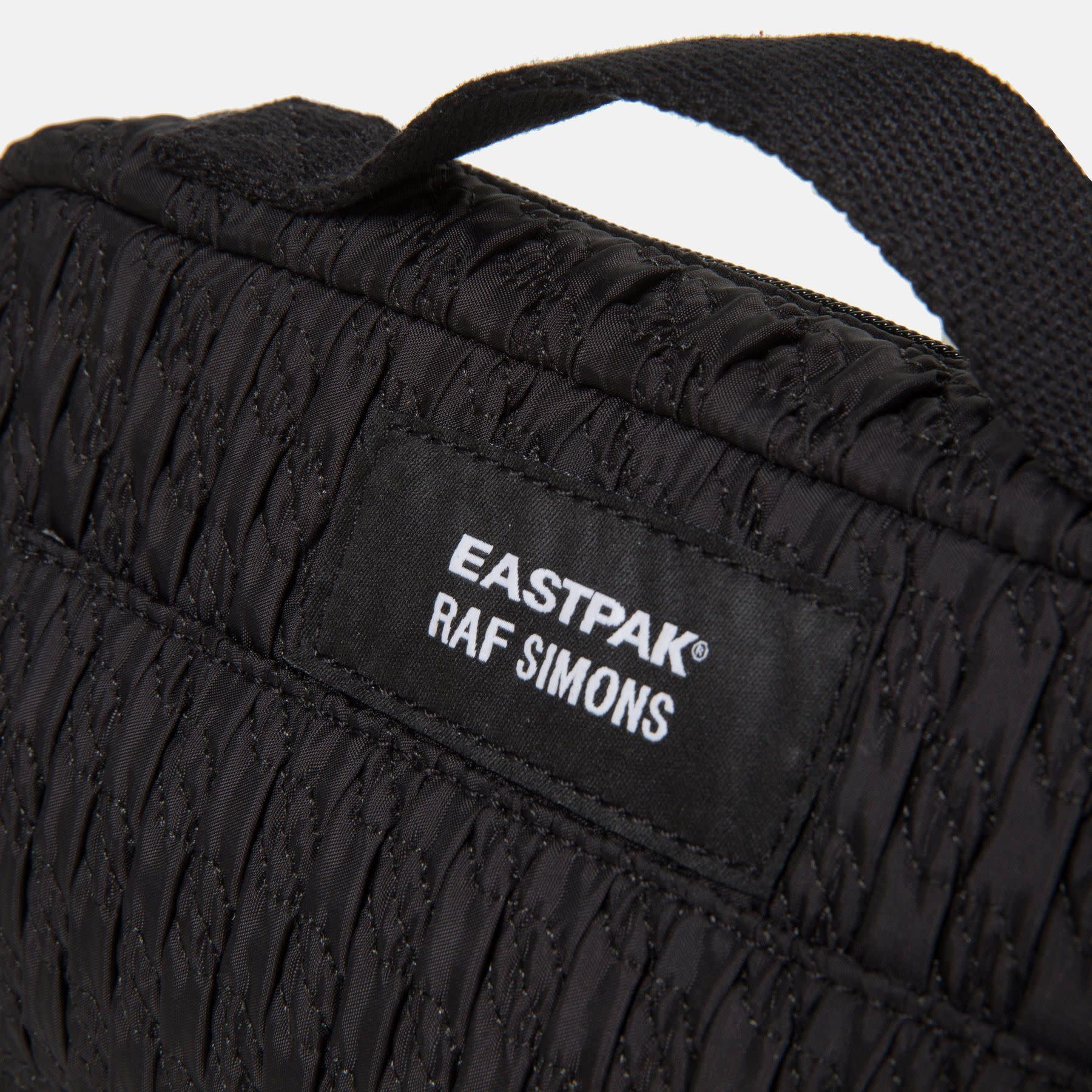 RAF SIMONS Raf Simons X Eastpak Loop Waist Bag in Black Matlasse