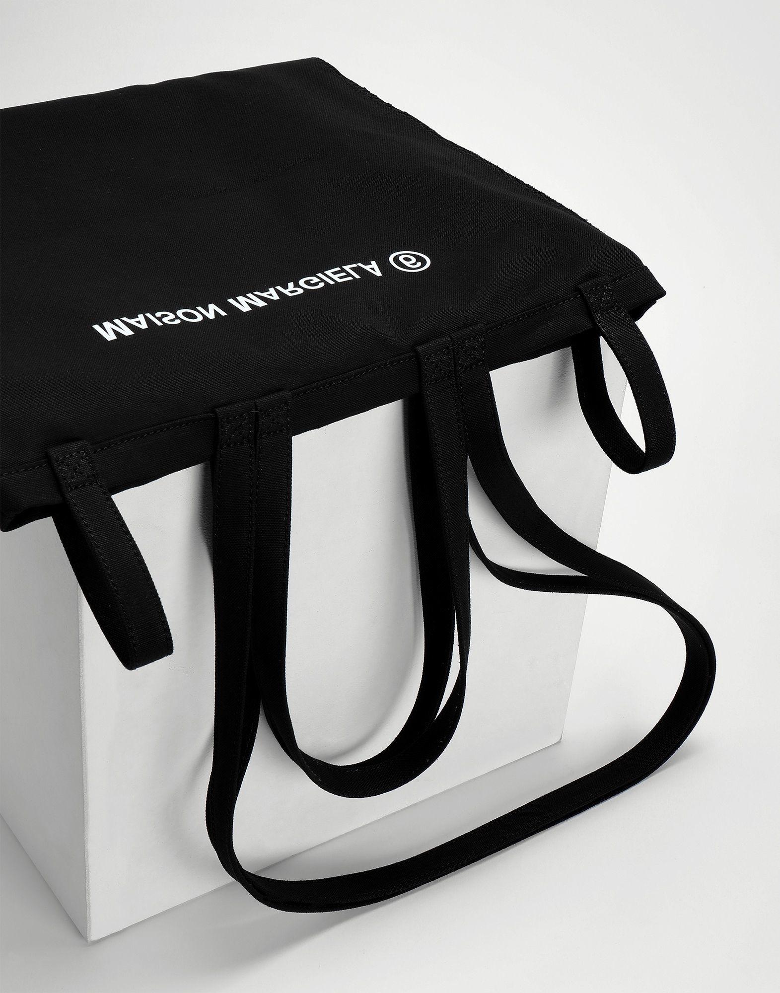 MM6 MAISON MARGIELA Inside Out Logo Bag Black