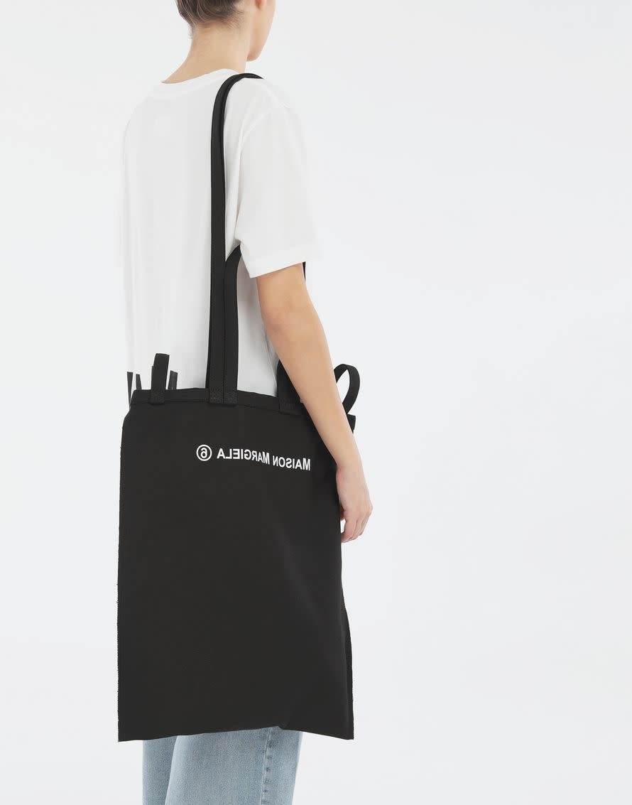 MM6 MAISON MARGIELA Inside Out Logo Bag Black