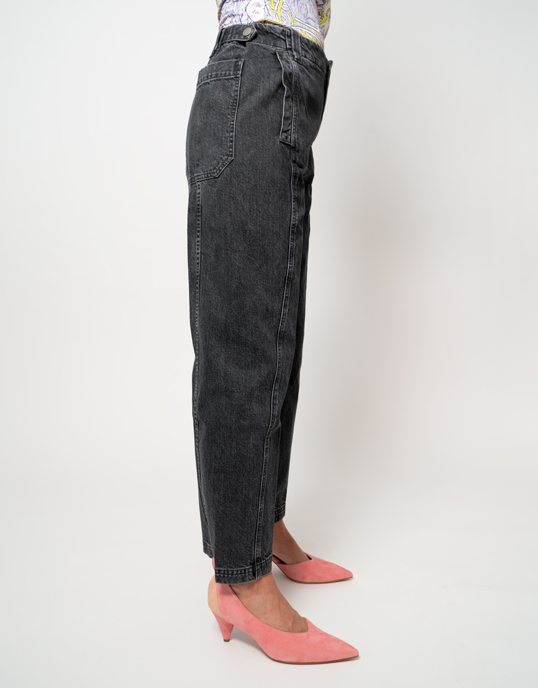 Rachel Comey Rachel Comey Steer Pant Washed Black Denim