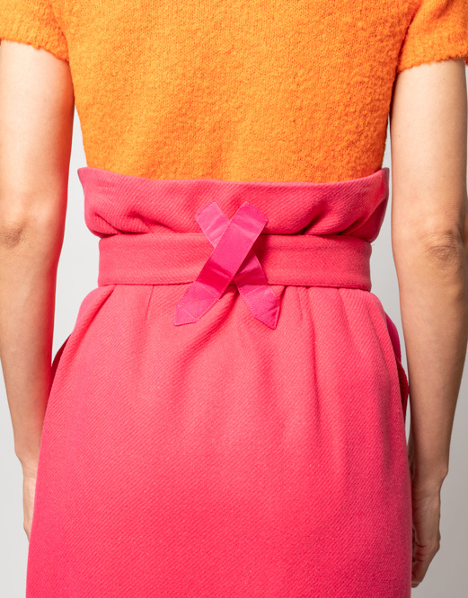 Rachel Comey Rachel Comey Bindle Skirt in Hot Pink