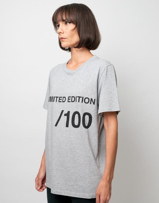 MM6 MAISON MARGIELA Unlimited Edition Tee: Grey Heather