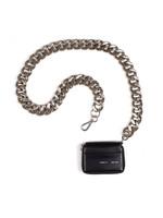 KARA KARA Bike Wallet with chain in Black Void